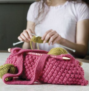 Knit Daily Free Patterns : Knitting Needle Knitting Bag, As Seen on Knitting Daily TV Episode 202 - Inte...