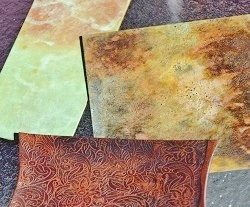 patinas on copper