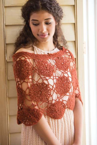 Crochet So Lovely: Motif Crochet Capelet