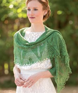 diospyros knitted lace shawl andrea jurgrau