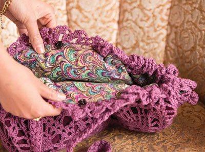 Colorful Crochet Lace: Crochet Purse