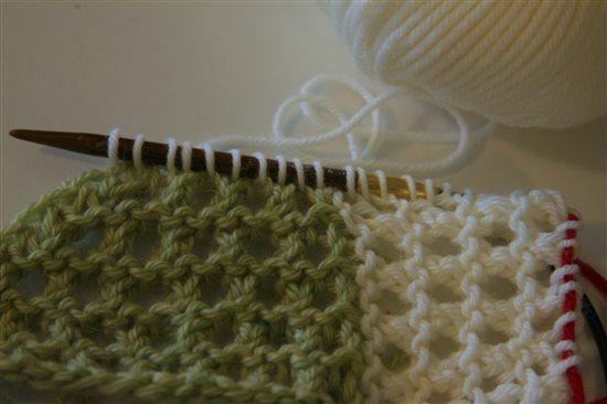 A New Spin On Modular Knitting Interweave