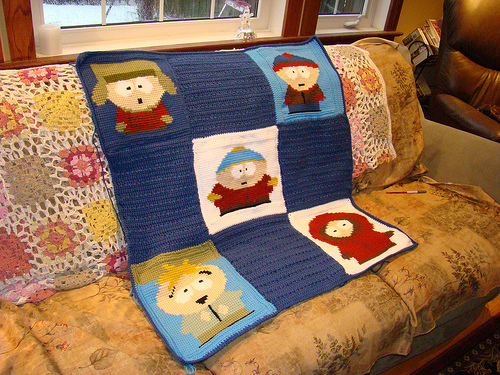 south park afghan finished