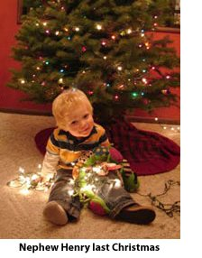 Henry at Christmas