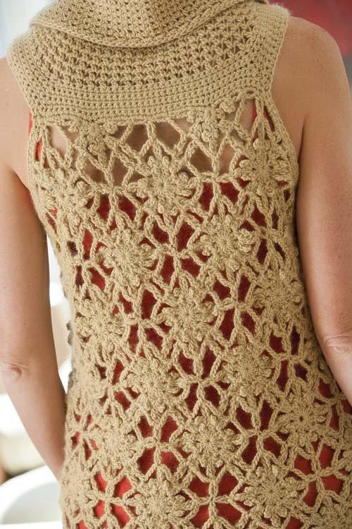 Crochet Blueprint Sweaters: Crocheted Tank
