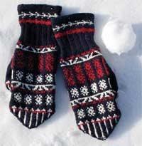 Knitted Mitten Pattern