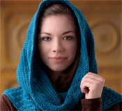 Free Crochet Hooded Scarf Pattern, by Sedruola Maruska