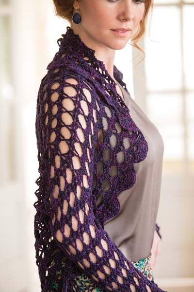 Crochet So Lovely: Bruges Lace Crochet Shrug