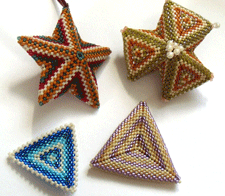 Peyote Stitch Triangles Examples