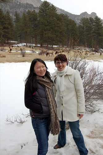 Eunny & Me with Elk