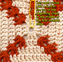 How to make a dc granny square