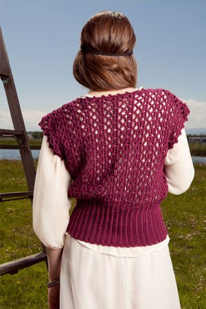 Crochet Lace Vest