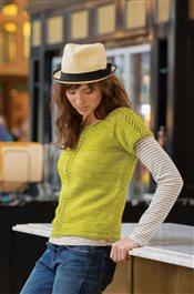 One Way Tee Debbie O'Neill IW Knits Spring 2015