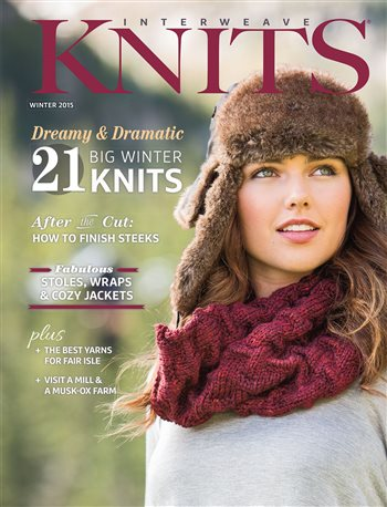 Fall River Cowl by Erica Schlueter, Interweave Knits Winter 2015
