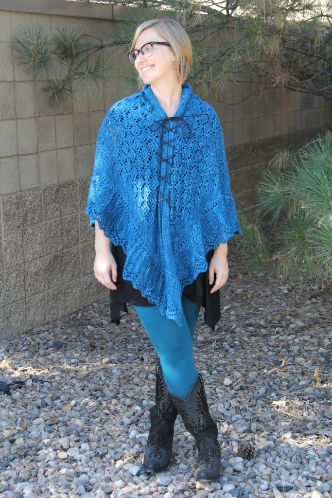 Style knit shawls 5 ways—learn how in this Knitting Daily blog.