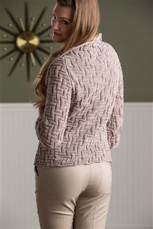 Maria Leigh Labyrinth Cardigan knit.purl Spring/Summer 2015