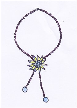 4 Sketched Ideas for Beaded Necklace Shapes - Interweave