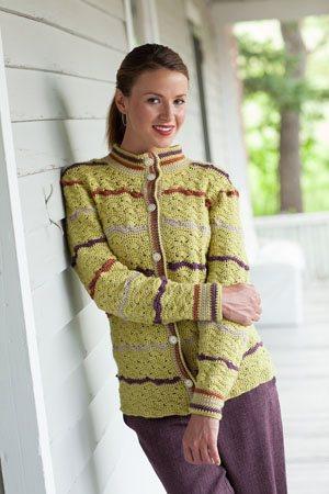 Crochet Colorwork Cardigan