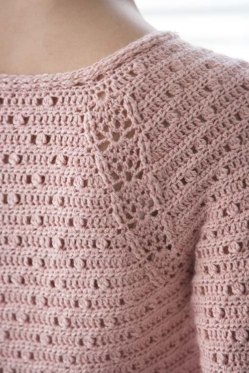Blueprint Crochet Sweaters: Crochet Lace Pullover