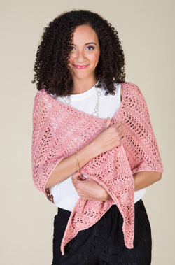 The Sausalito Shawl : An easy lace knitting pattern