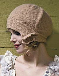 Side-Slip Cloche from Boutique Knits
