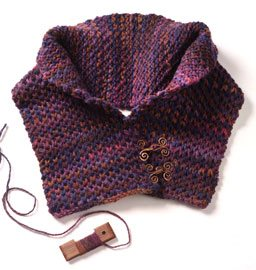 Circle Knitting Loom Patterns : Free Pattern! The Button-Up Neck Warmer - Interweave