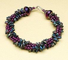 Edgy Kumihimo Bracelet by Sue Charette-Hood