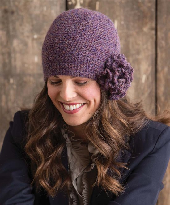 3 Skeins or Less: Crochet Cloche