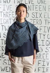 Stepping-Stones Shawl Katya Frankel knit.purl Spring/Summer 2015