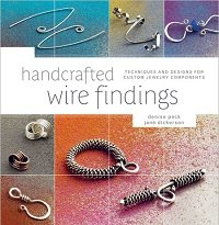 Try out these seven handcrafted ear wire projects in the book, Handcrafted Wire Findings, along with dozens of handmade clasps, connectors and other wire findings.
