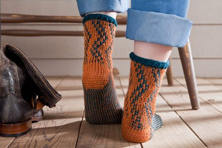 Crocheted Socks