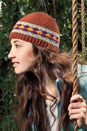 Colorwork Crochet Hat