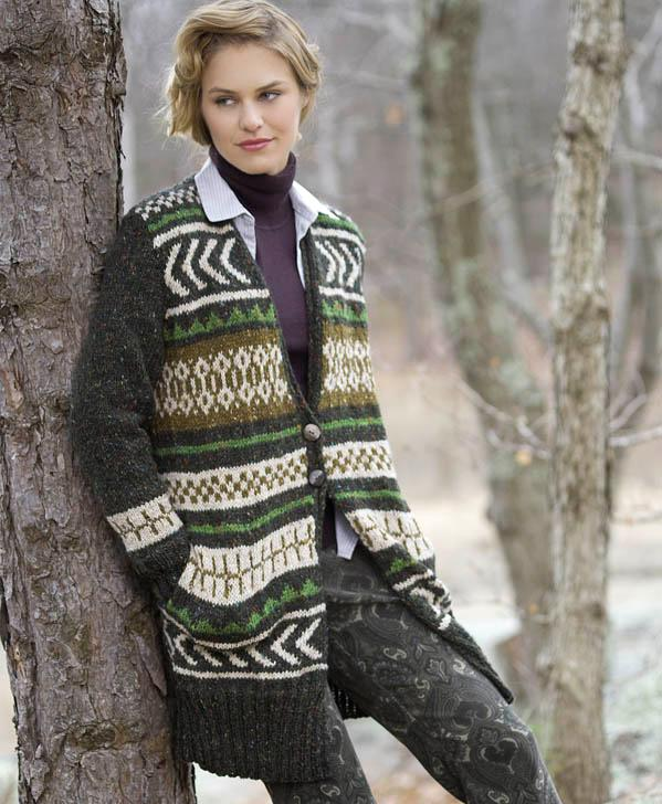 Free Pattern And A New Video The Donegal Tweed Fair Isle Scarf