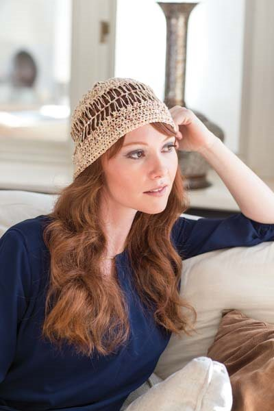 Hairpin Crochet Hat