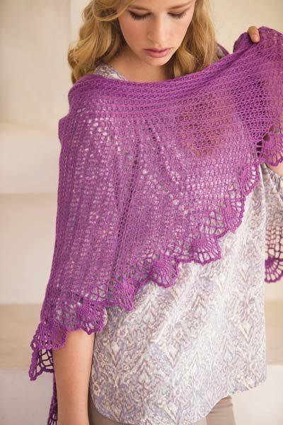 Crochet So Lovely: Kristin Omdahl Crochet Shawl