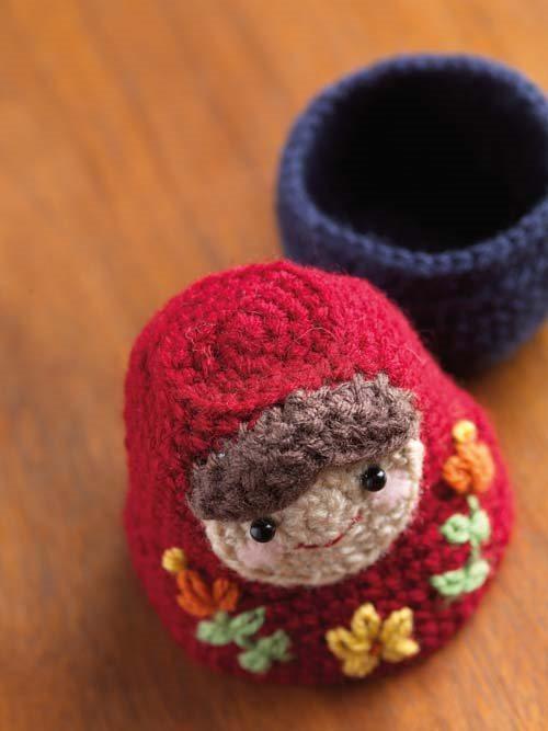 Crochet Amigurumi Nesting Dolls