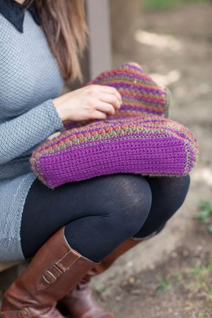Crochet Colorwork Bag