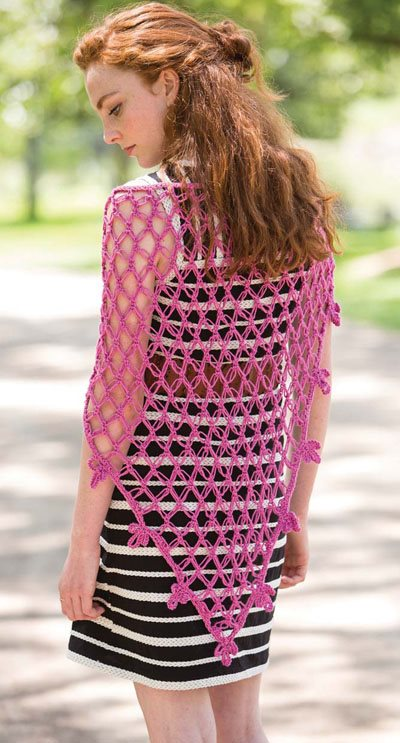 Colorful Crochet Lace: Love Knot Crochet