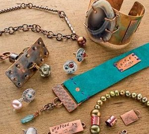 Check out these six soldered jewelry projects by Kate Richbourg on one DVD!