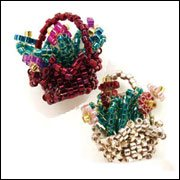 peyote flower baskets