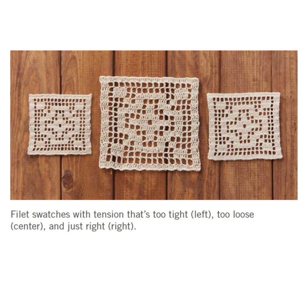 the many ways through filet crochet