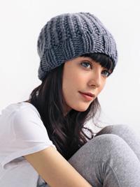 Waffle Hat knitting pattern
