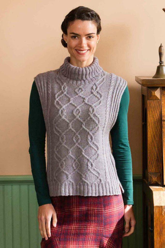 tweed water vest