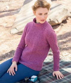 Plum Island Pullover by Alison Green