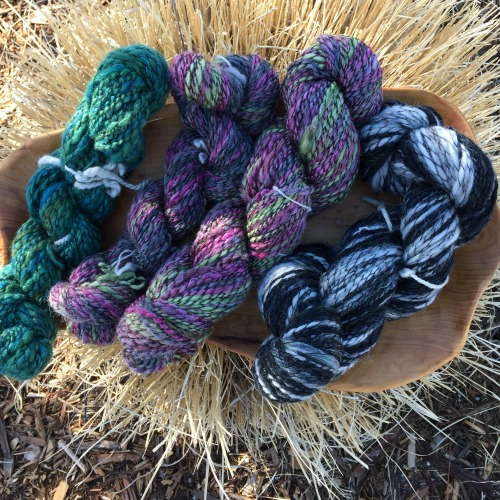 Handspinning Textured Yarn: My practical art yarns.