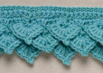 Free Crochet Edging Patterns: How to Crochet Lace Borders & Picot