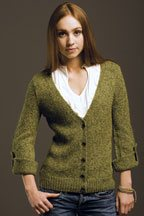 Emerald Isle Cardigan by Melissa Wehrle, Knitscene Fall 2009