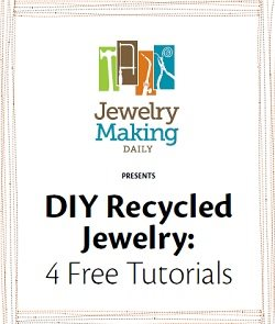 free recycled jewelry projects upcycling found object jewelry