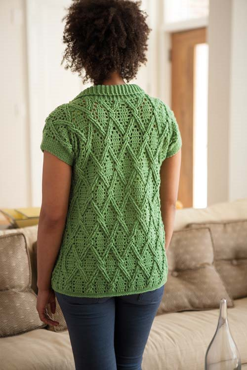 Blueprint Crochet Sweaters: Crochet Cable Cardigan