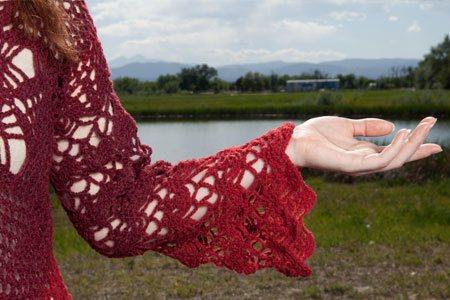 Crochet Woman's Cardigan